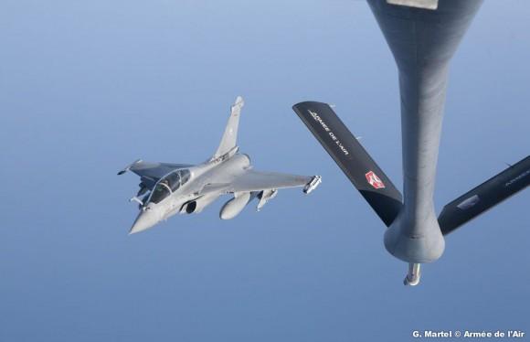C135 e Rafale - missão da FAS em La Reunion - foto 2 Força Aérea Francesa