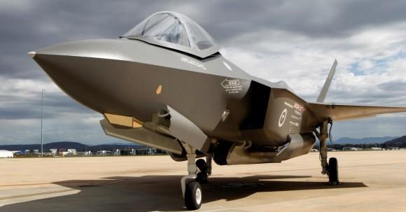 mockup do F-35A nas cores da RAAF - foto Min Def da Austrália