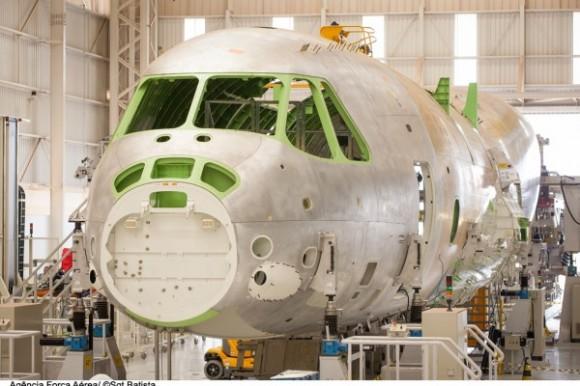 KC-390 em construção - foto2 Sgt Bruno Batista - Ag Força Aérea - FAB
