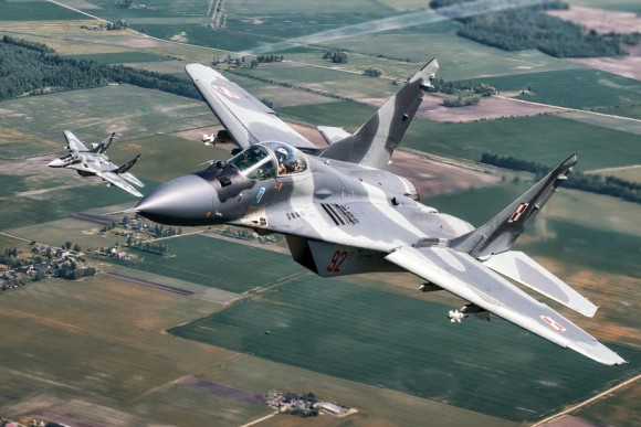 MiG-29 na Lituânia - foto 3 via MD Polônia