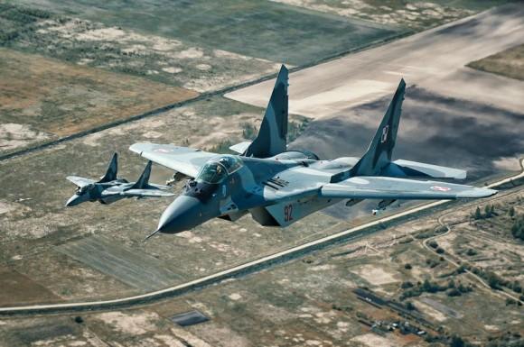 MiG-29 na Lituânia - foto 4 via MD Polônia