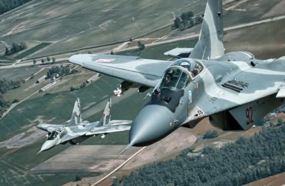MiG-29 na Lituânia - foto via MD Polônia
