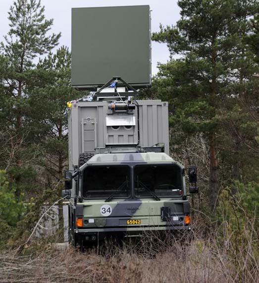 novos radares família Giraffe e Arthur - foto 2 Saab