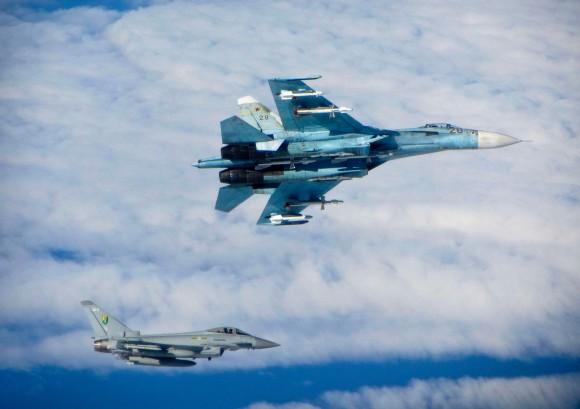 Eurofighter versus Sukhoi sobre o Báltico - 1