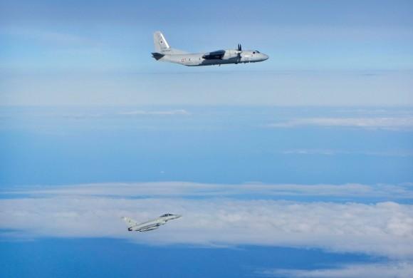 Eurofighter versus Sukhoi sobre o Báltico - 2