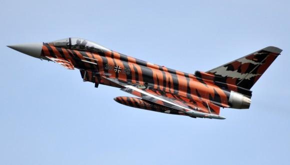 Eurofighter Typhoon Luftwaffe vencedor pintura Tiger Meet 2014 - foto 2 Eurofighter