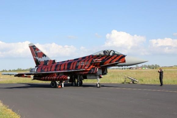 Eurofighter Typhoon - Tiger Meet 2014 - foto Luftwaffe