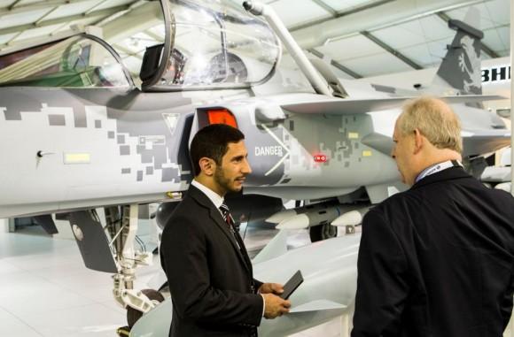 Farnborough - maquete Gripen - foto 14 Saab