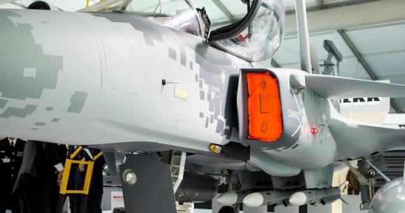 Farnborough - maquete Gripen - foto 15 Saab