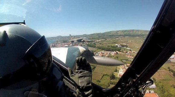 Alpha-Jet portugueses nos Açores - foto 3 Força Aérea Portuguesa