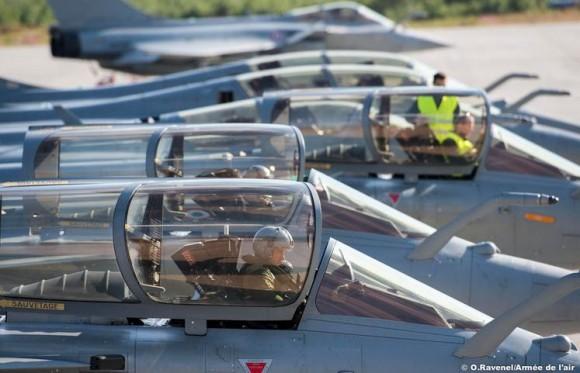 Artic Thunder - Caças Rafale na Noruega - foto 2 Força Aérea Francesa