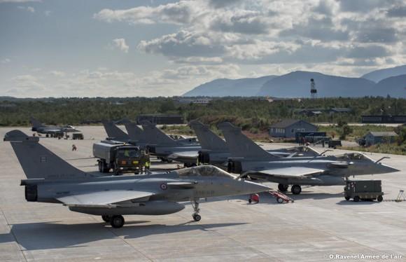 Artic Thunder - Caças Rafale na Noruega - foto 5 Força Aérea Francesa