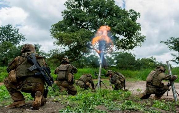 Forças francesas na Republica Centro Africana - foto 2 MD França