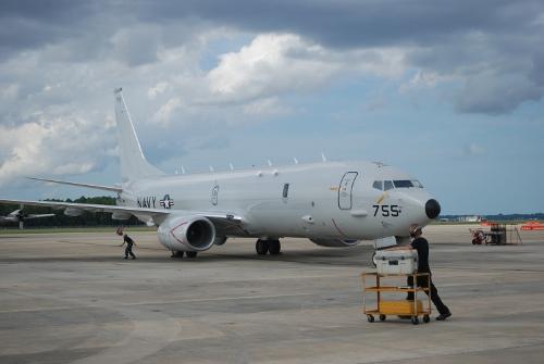 P-8A Poseidon - entrega número 15 de produção em Jacksonville - foto USN