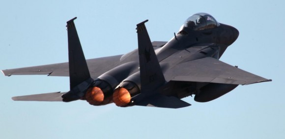 Pitch Black 14 - F-15 de Cingapura - foto MD Australia