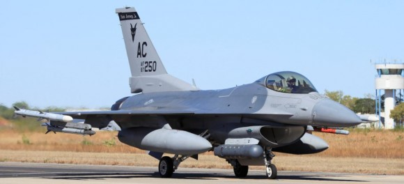 Pitch Black 14 - F-16 dos EUA - foto MD Australia