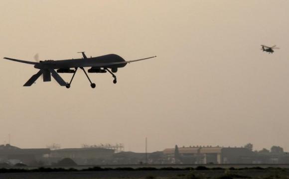 drone Predator no Iraque - foto USAF