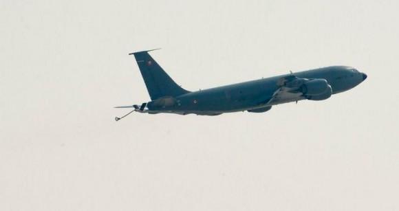 C135 francês - segundo voo reconhecimento Iraque - foto Força Aérea Francesa