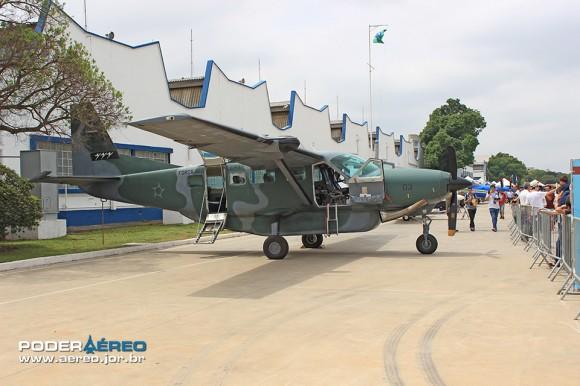 Domingo Aéreo no Campo de Marte - C-98 Caravan - foto Poder Aéreo