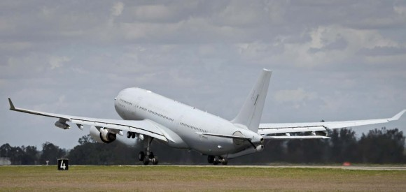KC-30A australiano parte para o Oriente Médio - foto Min Def Australia