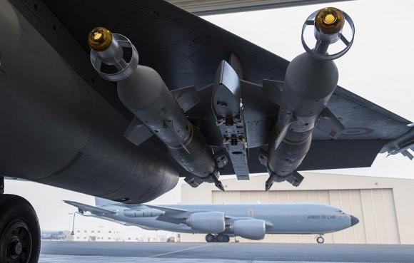 Operação Chammal - segundo ataque de Rafale ao EI - foto Min Def França