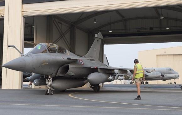 Operação Chammal - segundo ataque de Rafale ao EI no Iraque - foto 2 Min Def França