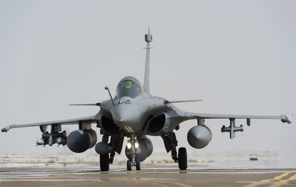Operação Chammal - segundo ataque de Rafale ao EI no Iraque - foto 3 Min Def França