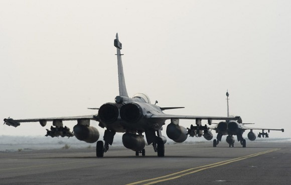 Operação Chammal - segundo ataque de Rafale ao EI no Iraque - foto 5 Min Def França