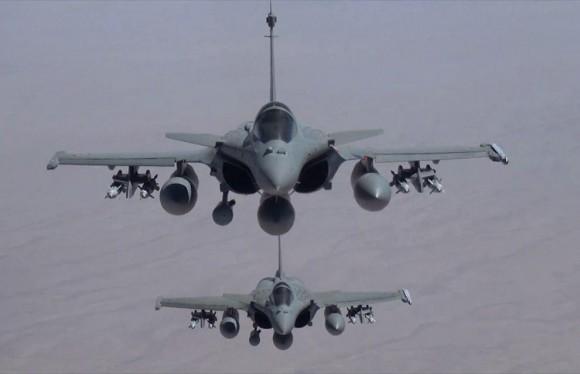 Primeiro ataque Rafale ao EI no Iraque - foto 3 Min Def França