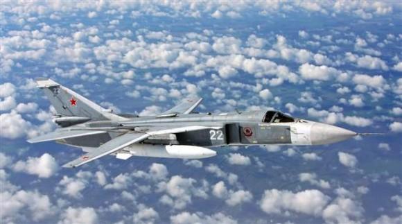 Su-24 - foto via Expressen