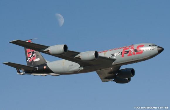 50 anos dissuasão nuclear França - C-135 - foto Força Aérea Francesa