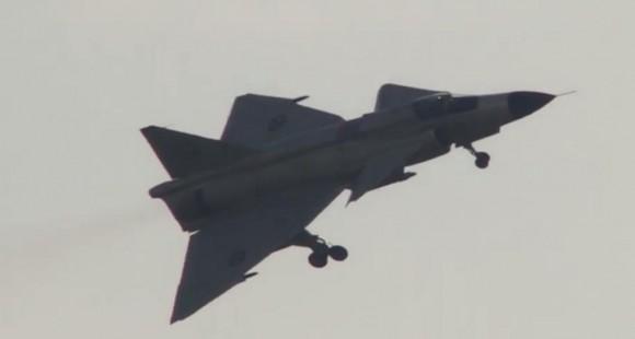 Cena vídeo apresentação Viggen no Dny NATO 2014