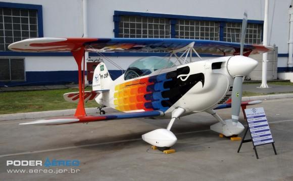 Domingo Aéreo PAMA-SP 2014 - Christen Eagle II do Aeroclube de SP - foto Nunão - Poder Aéreo