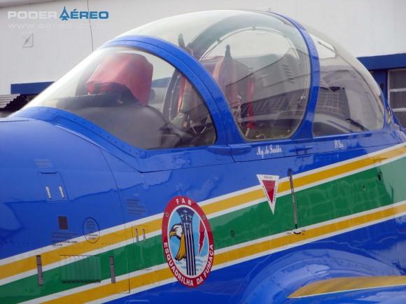 Domingo Aéreo PAMA-SP 2014 - canopi A-29A Super Tucano do EDA - foto Nunão - Poder Aéreo