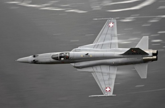 F-5 - foto 3 Força Aérea Suíça