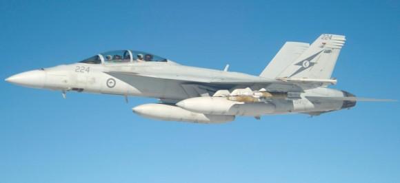 Missão Super Hornets da RAAF em 5-10-2014 - foto 2 Min Def Australia