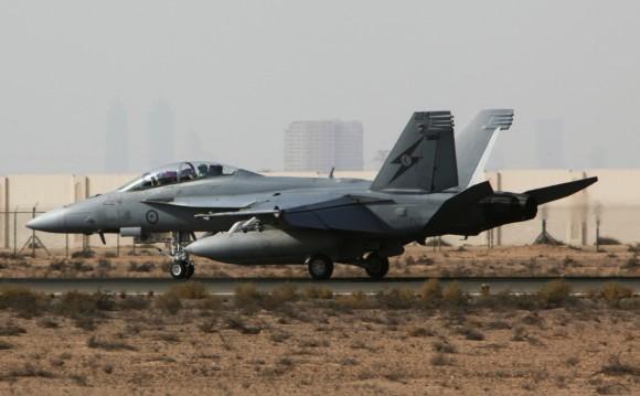 Super Hornet australiano volta de primeira missão no Oriente Médio - foto 5 MD Australia