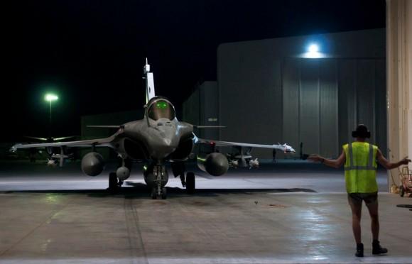 caças Rafale em missão sobre o Iraque - foto 2 Min Def França