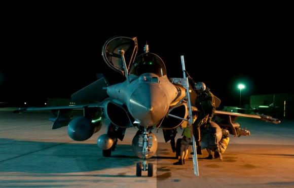 caças Rafale em missão sobre o Iraque - foto 3 Min Def França
