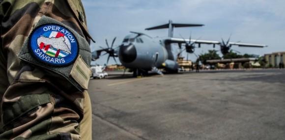 A400M na Operação Sangaris - foto 2 Min Def França