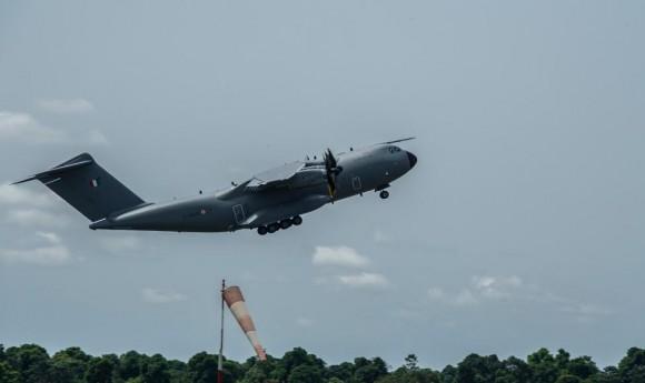 A400M na Operação Sangaris - foto 3 Min Def França