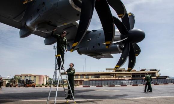 A400M na Operação Sangaris - foto 4 Min Def França
