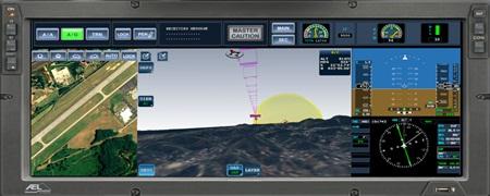 Display tela única - imagem AEL