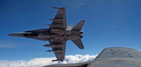 Hornet do Canadá em missão sobre o Iraque - foto 3 Força Aérea Real Canadense