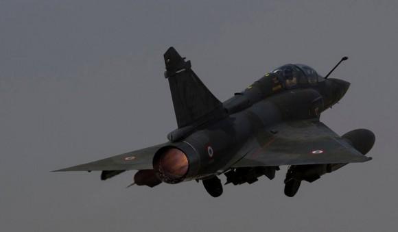 Mirage 2000D - foto de arquivo - Min Def França