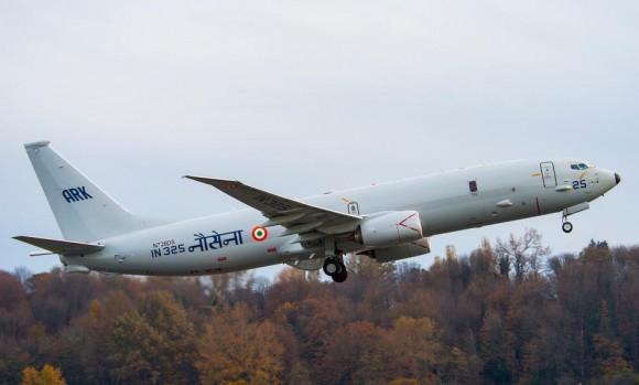 P-8I - sexta entrega à Índia - foto Boeing