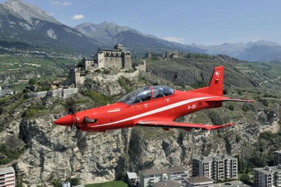 PC-21 - foto Força Aérea Suíça