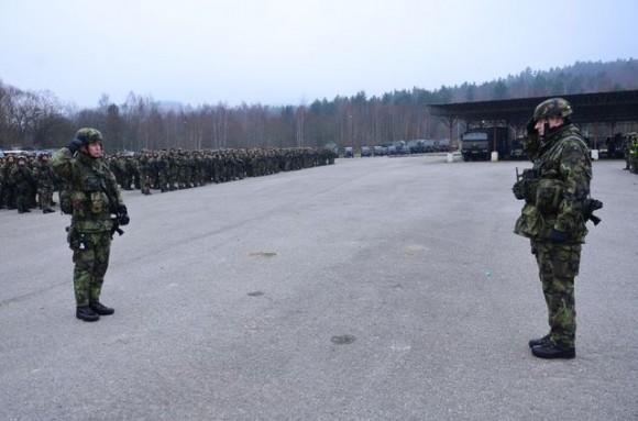 Tropas da quarta brigada na operação Moonrider da OTAN - foto Min Def Rep Tcheca