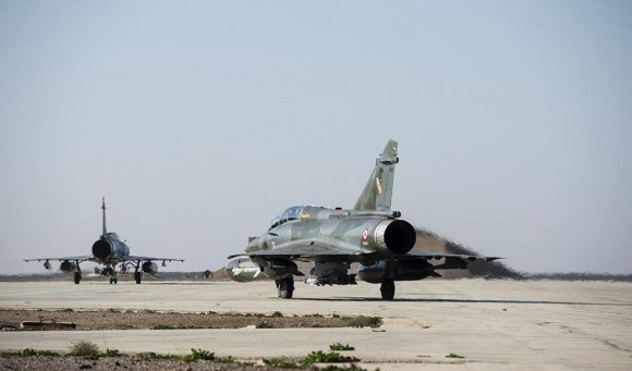 Primeiro voo operacional Mirage 2000D operação Chammal - foto 3 Min Def França