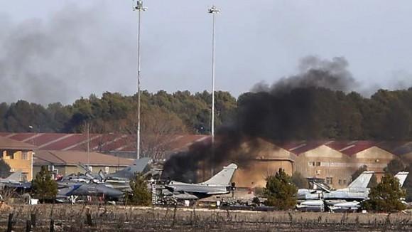 Acidente no TLP em Albacete 26jan2014 - foto 2 AP via G1